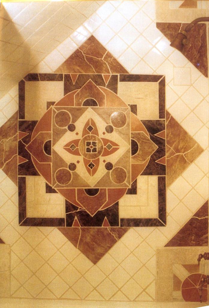Joel Davis Art - Shower Floor
